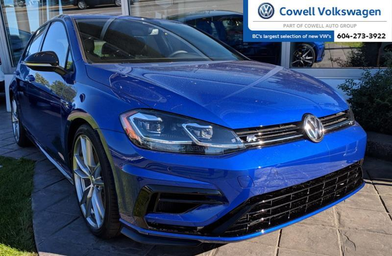 New 2018 Volkswagen Golf R 2.0 TSI